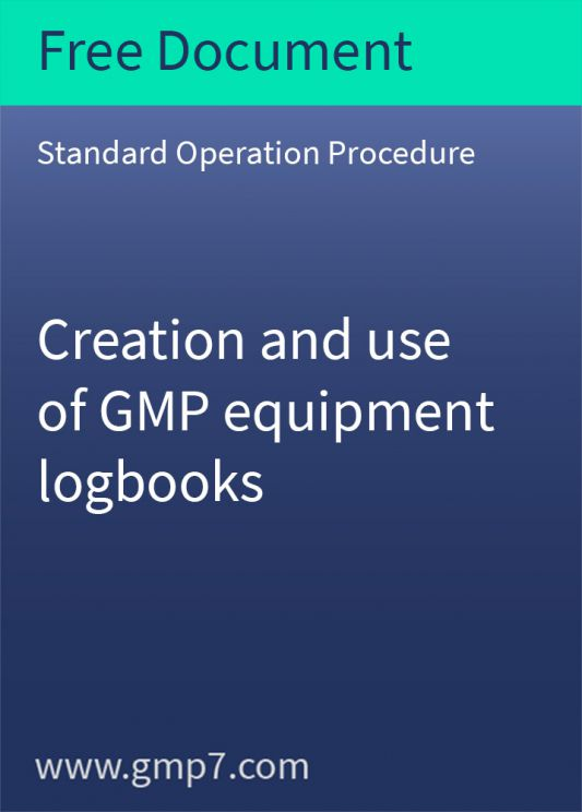 Free Gmp Sop Standard Operating Procedures Free Documents